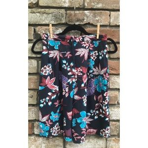 🦋 Top Shop Floral Hi-Waisted Shorts NWT Size 6 🦋